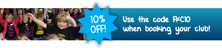 10% Off - Use the code FKC10 when booking your club!